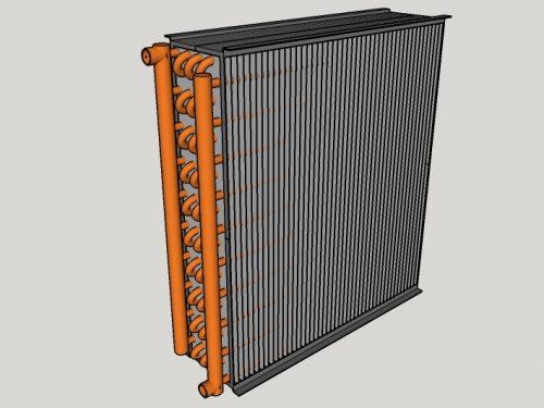 Batteria di scambio termico