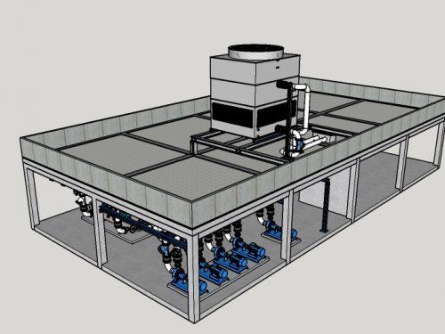 Centrale frigorifera completa