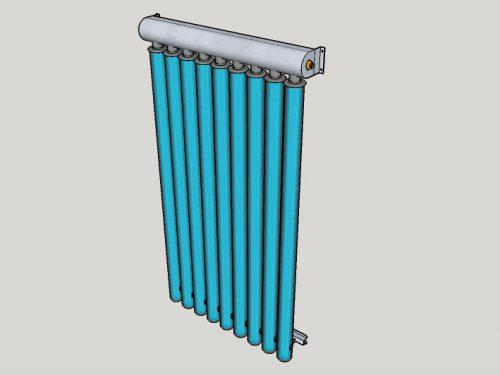 Collettore Solare a tubi sottovuoto